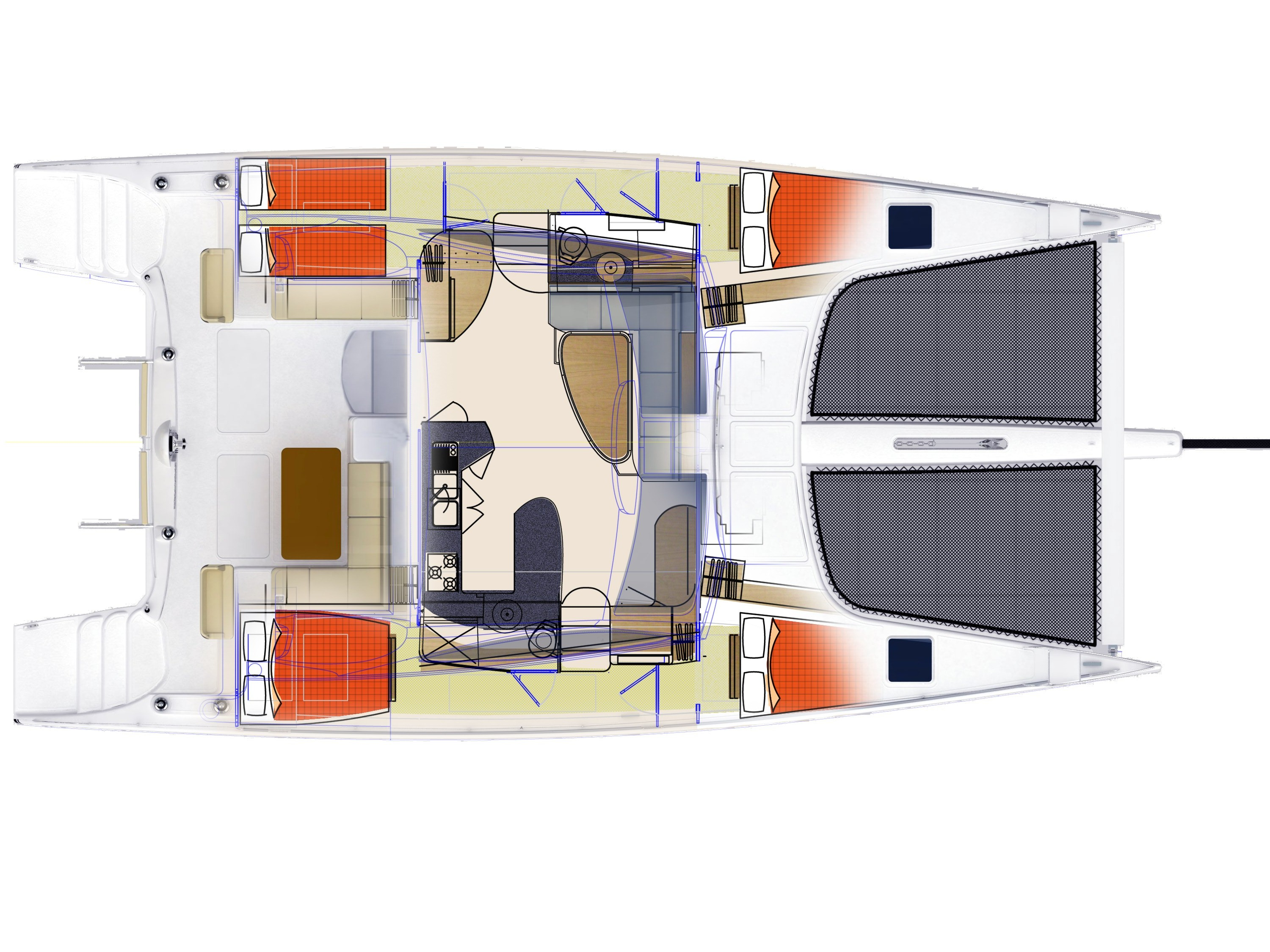 Seawind catamarans 1600 Performance - GA4Berth-copy1.jpg