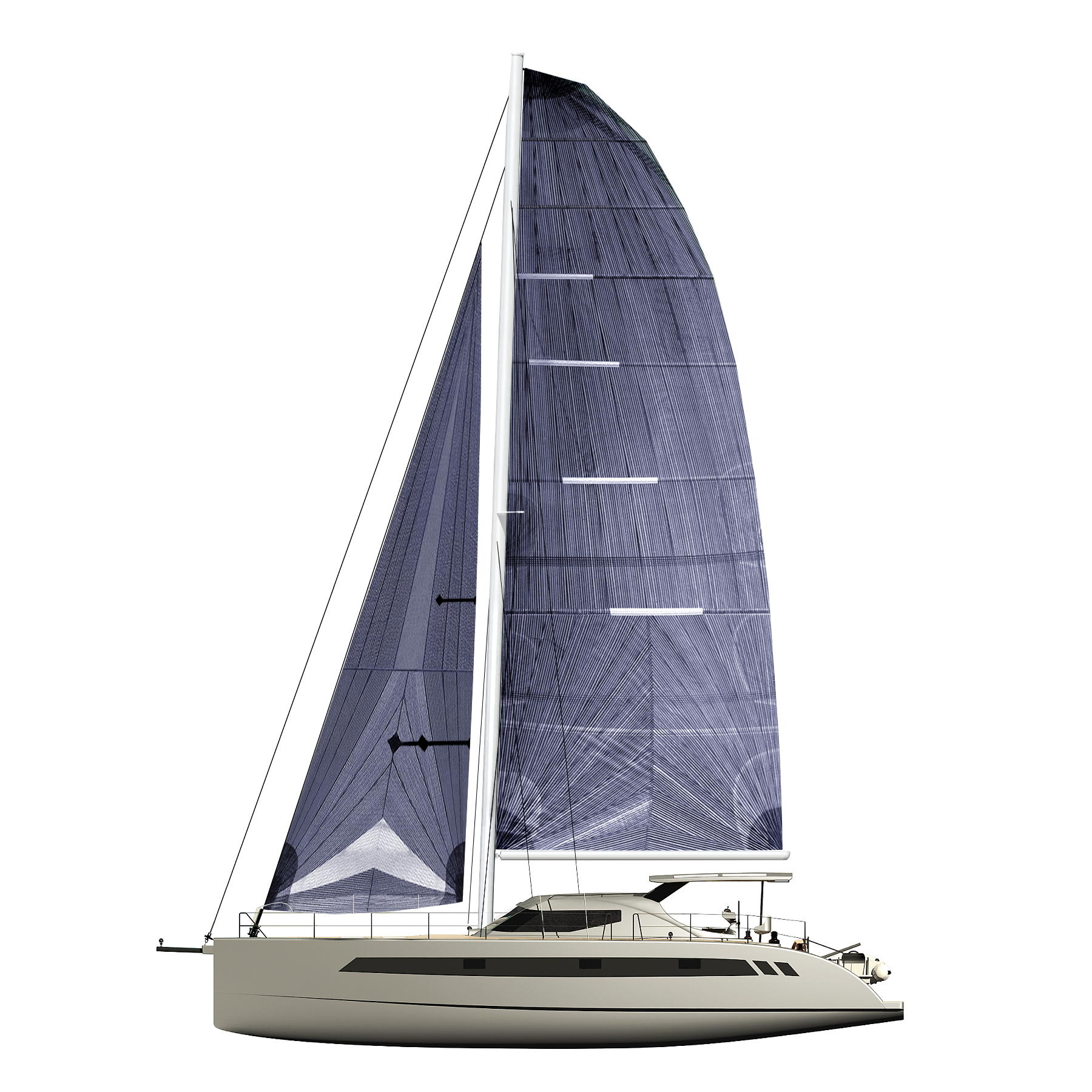 Seawind catamarans 1600 Performance - sailplan.png
